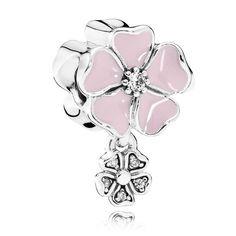 Pandora Poetic Blooms Charm 791827EN40