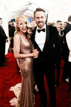 Blake Lively and Ryan Reynolds 2014 Charles James: Beyond Fashion Costume Institute Gala.  (May 5th, 2014)