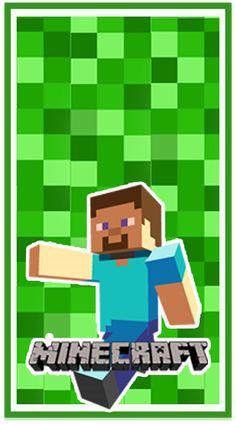 - Everything About Minecraft Minecraft Birthday Invitations, Hama Beads Minecraft, Cars Birthday Parties, Minecraft Party, Printables, Lol, Kids, Crafts, Pattern