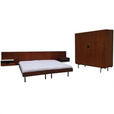 Cees Braakman DU- Series Bedroom, UMS Pastoe The Netherlands   From a unique collection of antique and modern bedroom sets at http://www.1stdibs.com/furniture/more-furniture-collectibles/bedroom-sets/