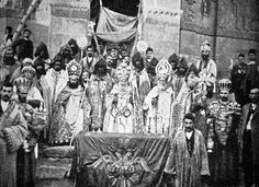Символ Васпураканского Ахтамарского Католикосата - двухглавый орёл