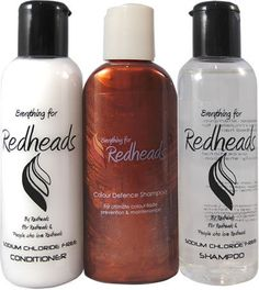 Everything for redheads. . Natural color maintenance