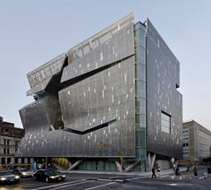 The Cooper Union's 41 Cooper Square, designed by architect Thom Mayne of Morphosis, located at Third Avenue between 6th & 7th Streets. #unconventional #NYC