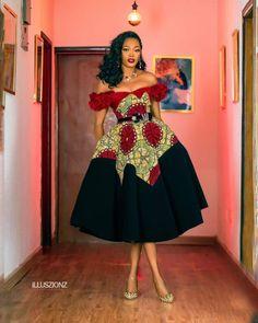 Long Ankara Dresses, Ankara Dress Styles, African Formal Dress, African Dresses For Women, Cute Dresses For Teens, Beautiful Ankara Styles, Traditional Outfits, African Fashion, Kids Fashion