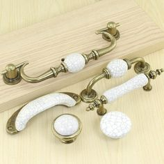 dresser pulls knobs drawer pulls handles knobs antique bronze white ceramic crack kitchen cabinet pulls knobs furniture hardware porcelain