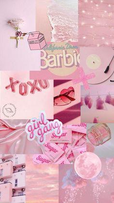 Barbie, gang of girls, aesthetic wallpaper & Pink Wallpaper Iphone, Pink Iphone, Tumblr Wallpaper, Cool Wallpaper, Bts Wallpaper, Phone Wallpapers, Pineapple Wallpaper, Perfect Wallpaper, Wallpaper Ideas