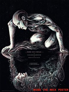 Nine Inch Nails & Soundgarden Toronto Tour Poster by Miles Tsang World Premiere Exclusive