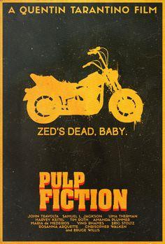 Pulp Fiction - Alt. Poster by Edwin Julian Moran II