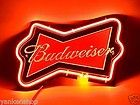 SD082 Budweiser Bowtie Beer Bar Decor Display Neon Light Sign Hot New Gift - http://collectibles.goshoppins.com/breweriana/sd082-budweiser-bowtie-beer-bar-decor-display-neon-light-sign-hot-new-gift/