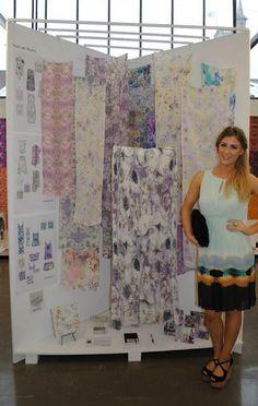 Textiles & Surface Design degree show 2012 Textile Texture, Textile Prints, Textile Design, Fabric Design, Exhibition Display, Exhibition Space, Exhibition Ideas, Surface Pattern, Surface Design