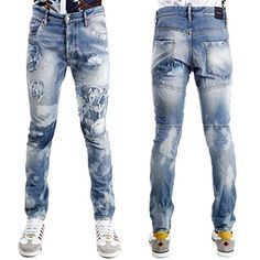 Denim Pants, Men's Jeans, Dsquared2, Skinny Jeans, Inspire, Fashion, Moustaches, Landscapes, Moda