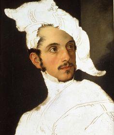 Palagi, Pelagio (1775-1860) - Unfinished Portrait;