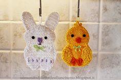 A World of Lisa Crochet Fantasies: crochet potholders for Easter - Easter Free Crochet Pattern