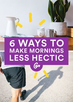 And become a happier person in the process. #morning #sleep http://greatist.com/live/morning-routine-ways-to-make-your-mornings-feel-less-hectic
