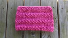 Bubblegum Cowl By Jennifer Dickerson This cowl is suitable for both kids and adults alike. Knit with chunky bubblegum pin...