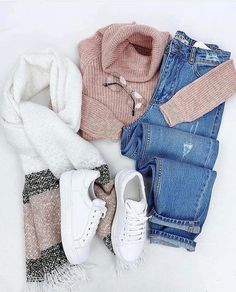 Fashion 2019 New Moda Style - fashion Winter Fashion Outfits, Fall Winter Outfits, Look Fashion, Womens Fashion, Cute Casual Outfits, Pretty Outfits, Stylish Outfits, Beautiful Outfits, Looks Chic