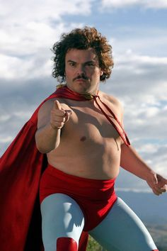 Jack Black in Nacho Libre. #Movember