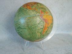 Vintage 1970s 12 inch World Globe