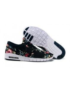 Nike Stefan Janoski Max Floral Black Unisex | nike