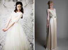 Ida Sjostedt; Halfpenny London | Wedding dresses with sleeves | SouthBound Bride #weddingdresses #sleeves