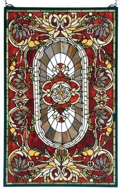 VANDERBILT LEADED GLASS PANEL
