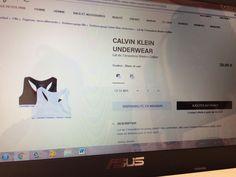 Brassière Calvin Klein    @giftryapp