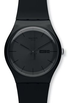 Montre Swatch Black Rebel