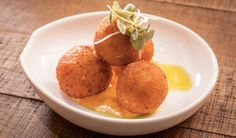 RICE BALLS! We think this may be the only saffron arancini recipe you'll need!