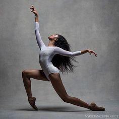 © NYC Dance Project (Deborah Ory and Ken Browar) Nardia Boodoo, Pennsylvania Ballet Ballet Nyc, Ballet Dancers, Ballerinas, Dance Photography Poses, Dance Poses, Black Dancers, Dance Project, Human Poses Reference, Black Ballerina