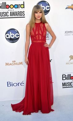 Taylor Swift Red Dress (grad next year perhaps??) by Elie Saab