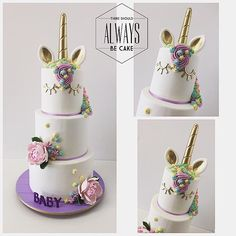 Unicorn Cake #unicor