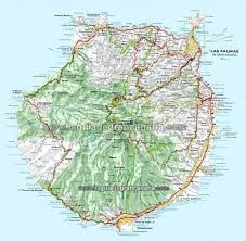 Reiseguide til Gran Canaria Canario, Vintage World Maps, Holiday Decor, Board, Google, Travel, Maps, Canary Islands, Voyage