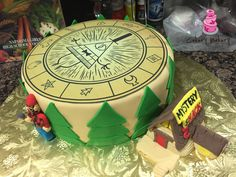 Gravity Falls cake done by Cakery Bakery