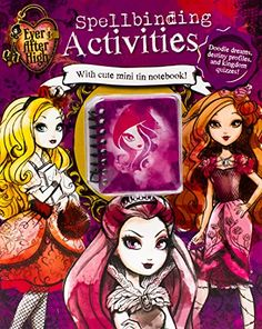 Ever After High Fairy Tale Activities by Parragon Books http://www.amazon.com/dp/1472370902/ref=cm_sw_r_pi_dp_L6.Vub0A959DN