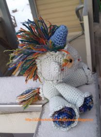 Unicorno amigurumi. Schema free