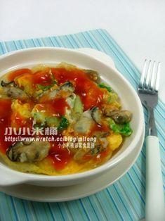 台灣風味小吃 --- 蚵仔煎 - 小小米桶的寫食廚房 - 無名小站