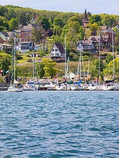 20 Great Lakes Getaways - Bayfield, Wisconsin.  Apostle Islands National Lakeshore.