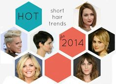 Six HOT Short Hair Style Trends for 2014
