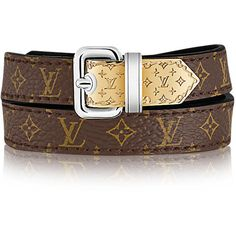 LOUIS VUITTON Bracelet Nanogram Monogram ($325) ❤ liked on Polyvore featuring jewelry, bracelets, louis vuitton, monogrammed jewellery, louis vuitton jewelry, monogram jewelry and louis vuitton bangles