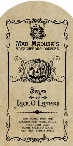 apothecary labels for Halloween! Halloween Apothecary Labels, Halloween Bottle Labels, Halloween Potions, Fete Halloween, Halloween Images, Halloween Signs, Holidays Halloween, Vintage Halloween, Halloween Crafts