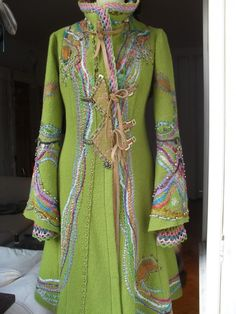 Green jacket - view 2 - from: Åsa Örterström