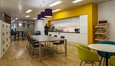 Mazars - London. Copyright: Workplace Creations Ltd. #wpclondon #mazars #london #breakout #teapoint #coffeebreak #collaboration #inpromtu #meeting #yellow #lighting #iberian #walnut #slats #karndean #oak #furniture #kvadrat #camira #modern #office #design #officedecor #fitout #interiordesign #itmatters