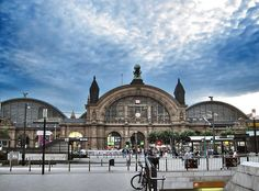 Frankfurt Hauptbahnhof.  This was a great place to introduce me to German cuisine and stores.  I loved this trains station.