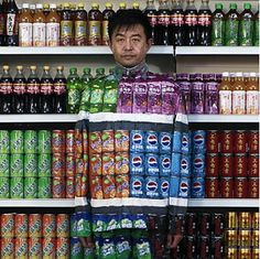 #Art spaces #inspiring creative #art installations Liu Bolin