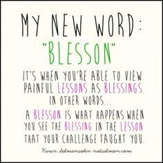 """Blesson"""