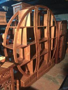 grande tag re biblioth que chelle bois recycl 4 tiroirs d co atlantique meubles industriels. Black Bedroom Furniture Sets. Home Design Ideas