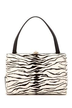 7af43157aa Valentino Zebra Print Studded Lock Handbag by MSA Haute Couture Inc on   HauteLook Replica Handbags