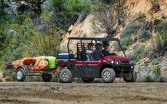 Kawasaki's New Do-it-all MULE PRO-FXT Models - Photo Gallery - ATV Trail Rider