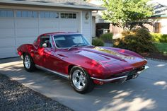 1964 corvette pictures - We owned a burgundy hatchback corvette much like this one.  Loved it!