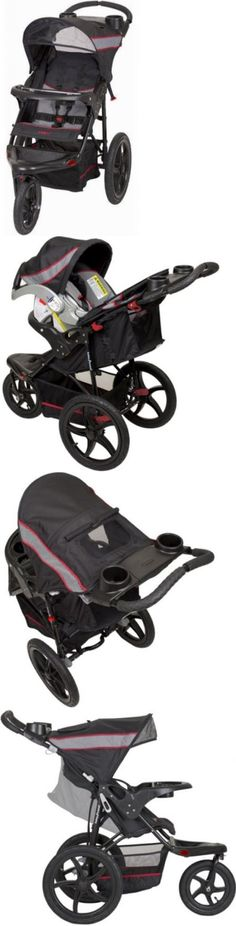 baby and kid stuff: Baby Trend Millennium Expedition Baby Jogger Stroller Infant Safe Travel System BUY IT NOW ONLY: $111.94